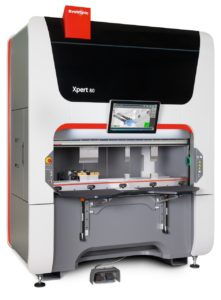 The compact, portable, high-speed Xpert 80 press brake.
