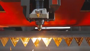 ByStar Fiber 12kW thick plate cutting