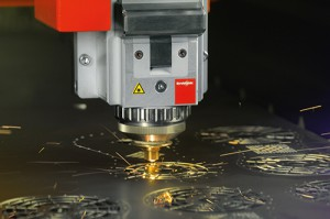 Fiber laser cutting machine by Bystronic